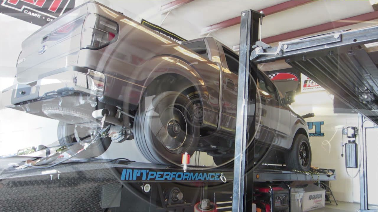 F150 5 0 Dyno Tuned at MPT with SCT