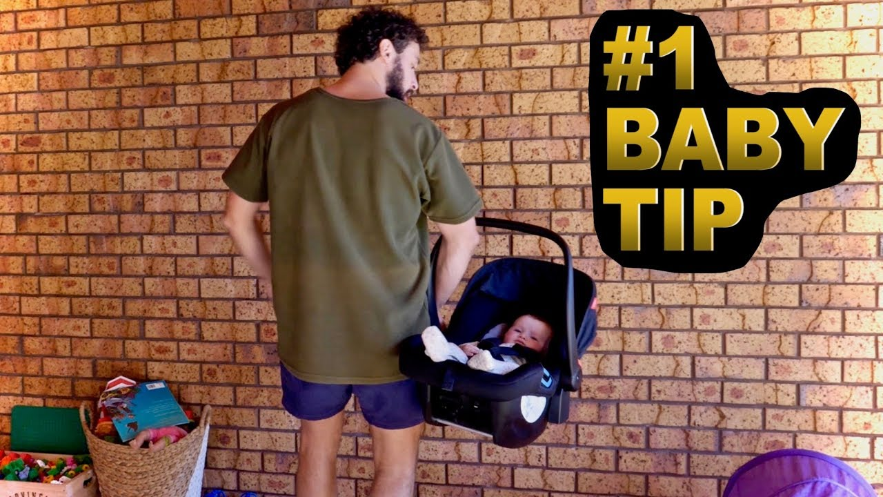 How To Carry A Baby Car Seat Mind Blown Youtube