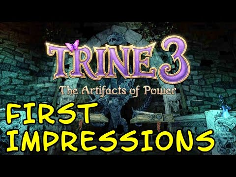 FIRST IMPRESSIONS | Trine 3 The Artifacts of Power |