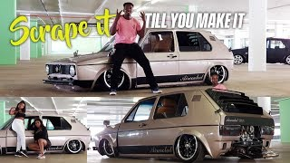 Aircooled MK1 bodydrop | Scrape it till you make it