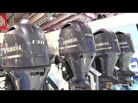 2016 Yamaha Outboard Engine 100 130 150 175 200 300 350 - Walkaround - 2015 Salon Nautique de Paris