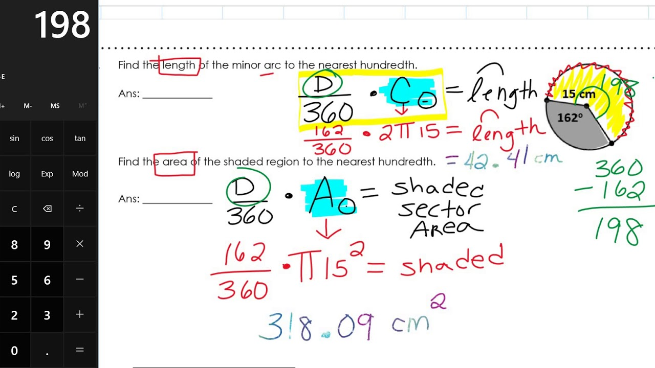 Geometry EOC Full Year Review Packet - FHS Page 30 - YouTube