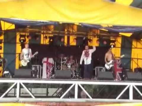 No Future Sex Pistols Tribute Band Pretty Vacant Sellindge Festival