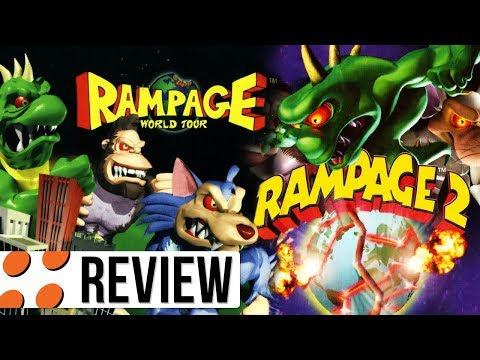 Rampage: World Tour & Rampage 2: Universal Tour for PlayStation Video Review