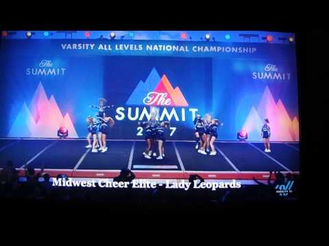 West Chester, Ohio Midwest Cheer Elite Lady Leopards