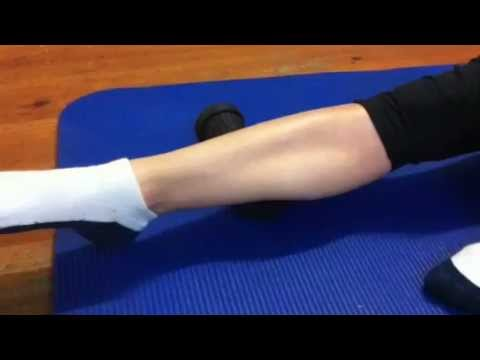 Release Tight Calf Muscles For Runners Body Leadership
