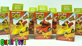 NEW 2015 Angry Birds Go toys surprises Kinder Surprise/Энгри Бёрдс Гоу игрушки сюрприз Sweet Box
