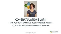 Lori Brewer 2018 Most Powerful Woman in Mortgage Banking NMP Magazine