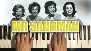 Baixar MR. SANDMAN (Piano Tutorial Lesson)