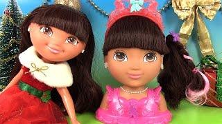 Dora l'exploratrice Jouets Tête à Coiffer Ballerine Dora Styling Head