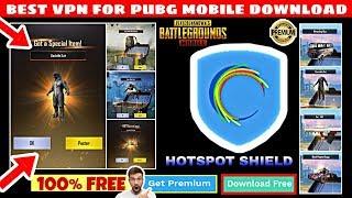 Gambar cover BEST VPN FOR PUBG MOBILE DOWNLOAD HOTSPOT SHIELD PREMIUM
