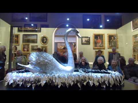 Bowes Museum the Silver Swan