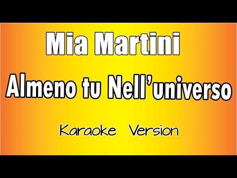 Mia Martini -  Almeno Tu Nell'universo (Versione Karaoke Academy Italia)