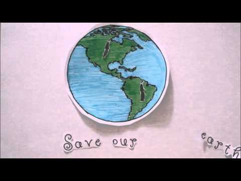 Save our earth (stop motion)