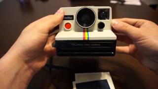 Polaroid SX 70 OneStep Rainbow Camera Working