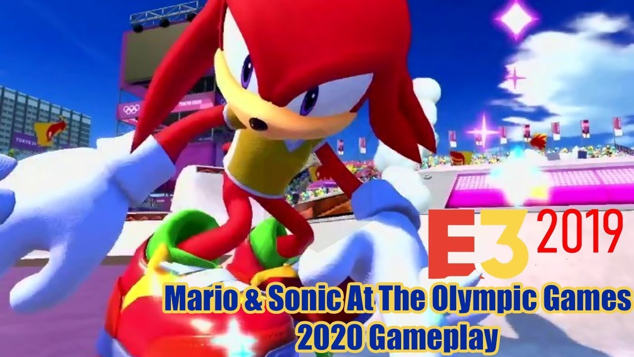 E3 Games 2020.E3 2019 Mario Sonic At The Olympic Games 2020