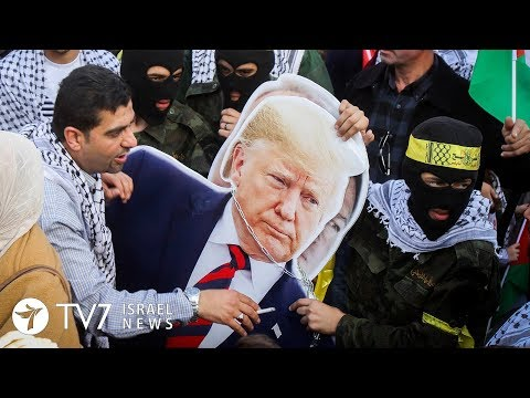 """Palestinians Claim U.S. Policy """"an Act Of War"""" - TV7 Israel News 28.11.19"""