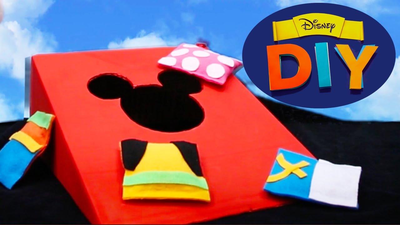 Mickey Mouse Bean Bag Toss Disney Diy Youtube