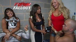 Hornswoggle joins the party - Raw Fallout - Aug. 4, 2014