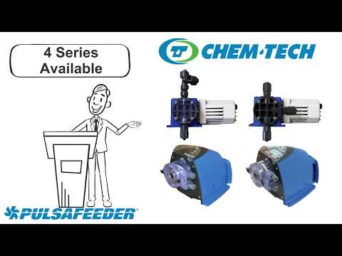 Pulsafeeder Chem-Tech Series Features & Benefits