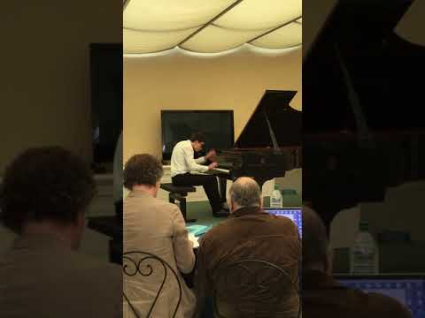 Riccardo Martinelli plays Scarlatti Sonata k 27
