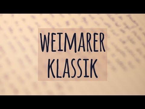 Weimarer Klassik einfach erklärt! | Geschichte | Merkmale | Ästhetische Erziehung