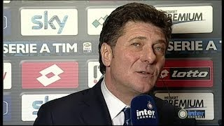 INTERVISTA WALTER MAZZARRI POST GENOA-INTER