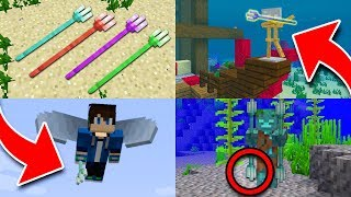 10 Things You Didn't Know About the TRIDENT in Minecraft! thumbnail
