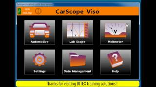 Automotive Oscilloscope (Lab Scope) Tool CarScope Viso - DEMO- Files