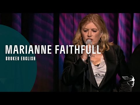 Marianne Faithful  Broken English From  in Hollywood DVD