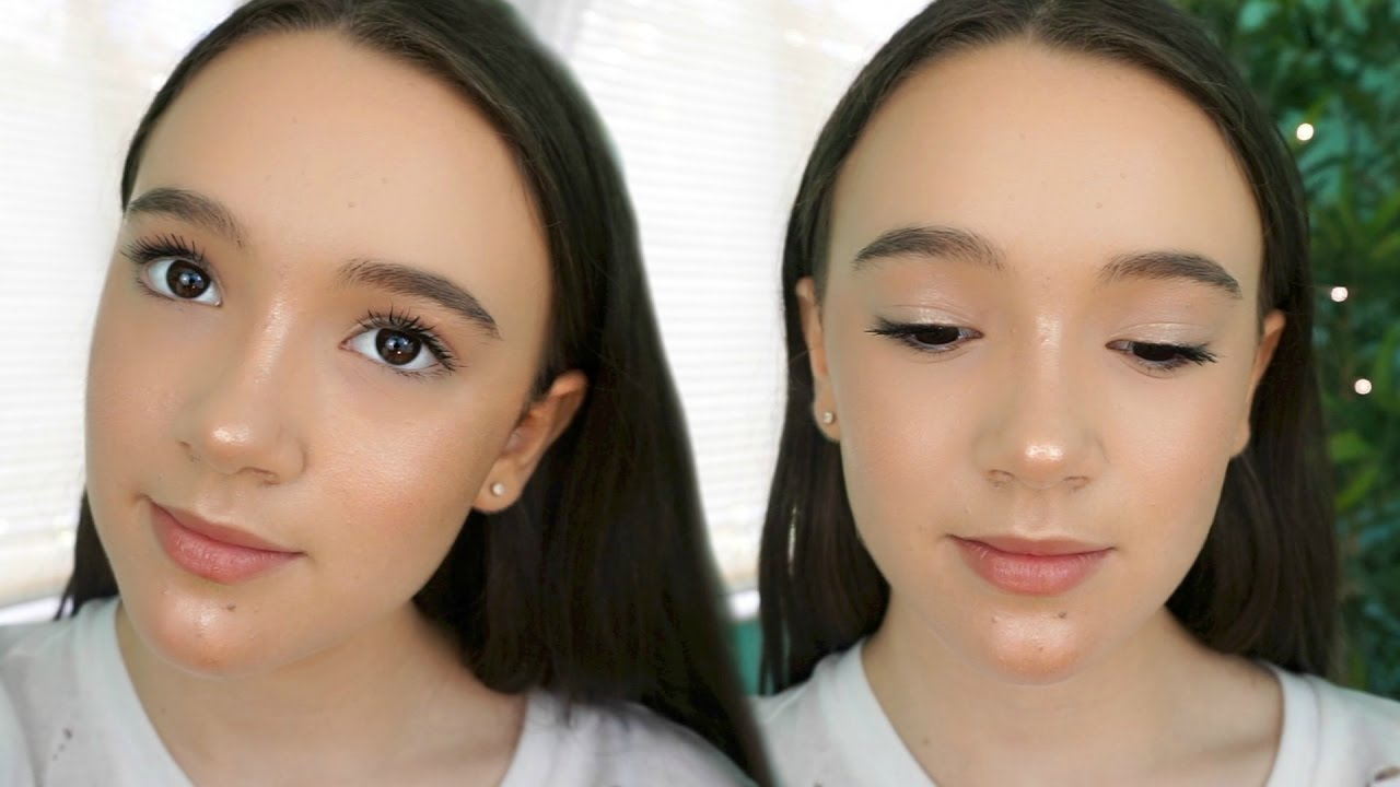 minimal makeup tutorial for teens | fresh, affordable, fast