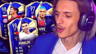TOTY DAY 1 - ATTACCANTI PACK OPENING & COMPRO CR7 E MBAPPE TOTY!