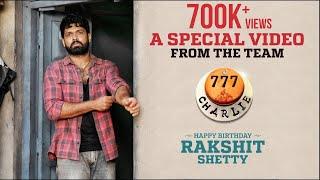 Rakshit Shetty Birthday | 777 Charlie | Kiranraj K | Paramvah Studios | Pushkara Mallikarjunaiah