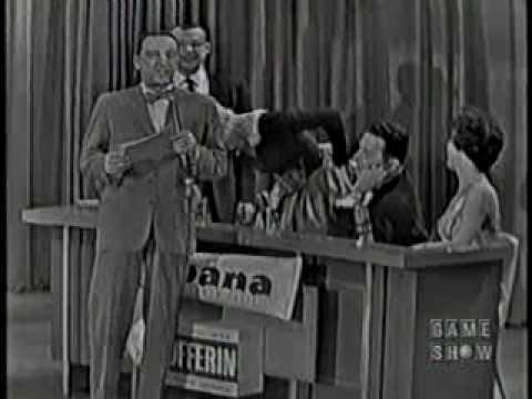 I've Got a Secret (1960)--Betsy Palmer almost loses her dress on live TV! streaming vf