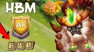 Castle Clash: HBM AA-AF Amazing Setup!!
