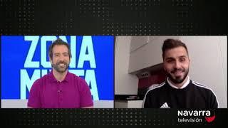 Rafa Usín se despide de la afición del Xota en Navarra TV