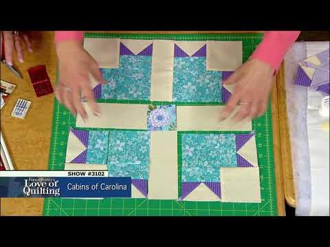 Love of Quilting Preview: Cabins of Carolina (Episode 3102)