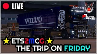 【 LIVE 】Euro Truck Simulator 2 - ETS2MCG Team l Stuttgart - Lyon [17/8/2018]