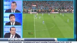 Trabzonsporun FENERBAHÇE Olaylı Maçı...