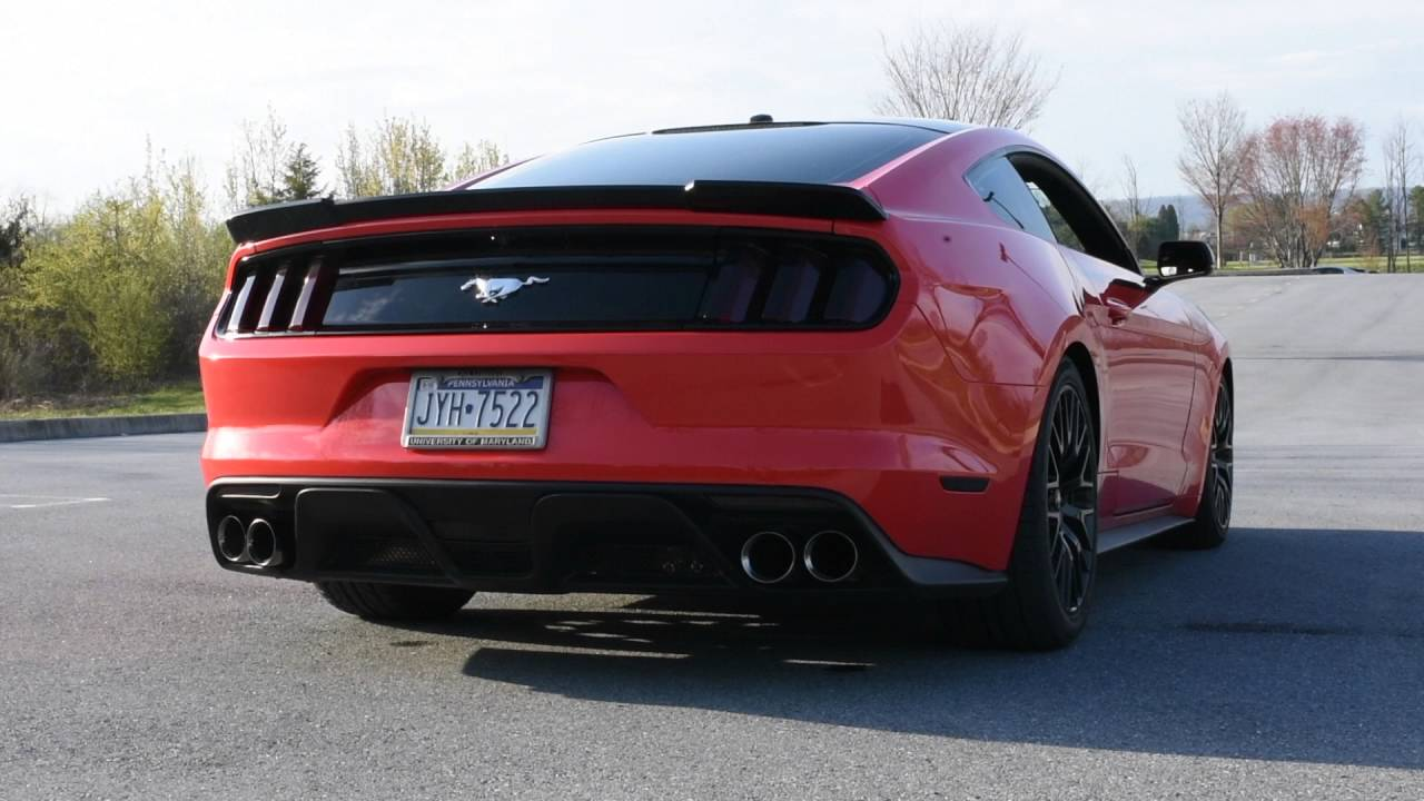 2015 mustang quad exhaust