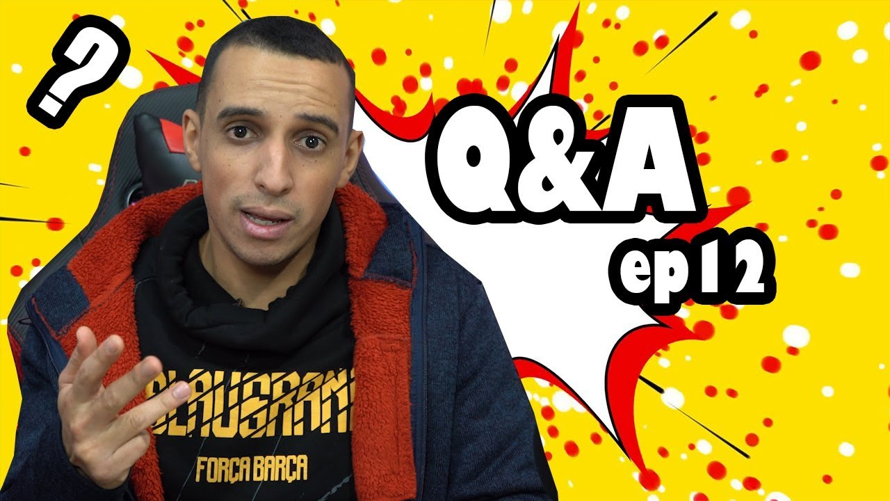 Q&A Morocco Gamer EP 12 -  Play 5 fo9ach atkheroj? 3lach Subs tayehin?