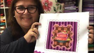 Pano de prato – Aprenda a fazer aplicação com tecido digital!