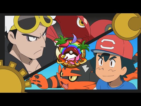 Ash vs. Guzma | Pokémon the Series: Sun & Moon—Ultra Legends | Official Clip