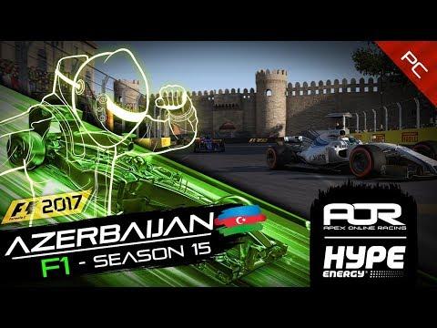 F1 2017 | AOR Hype Energy F1 League | PC | S15 | R3: Azerbaijan GP