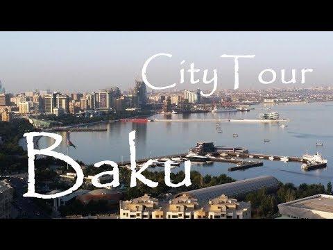 Baku - Small City Travel Tour - Baki Şəhərlərin Kicik tur Gəzintisi - Azerbaijan - Part 2