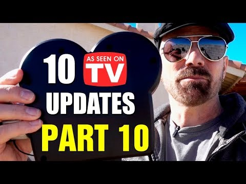 10 As Seen on TV Product Review Updates, Part 10