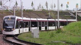 Edinburgh Trams York Place ⇒ Edinburgh Airport Drivers View