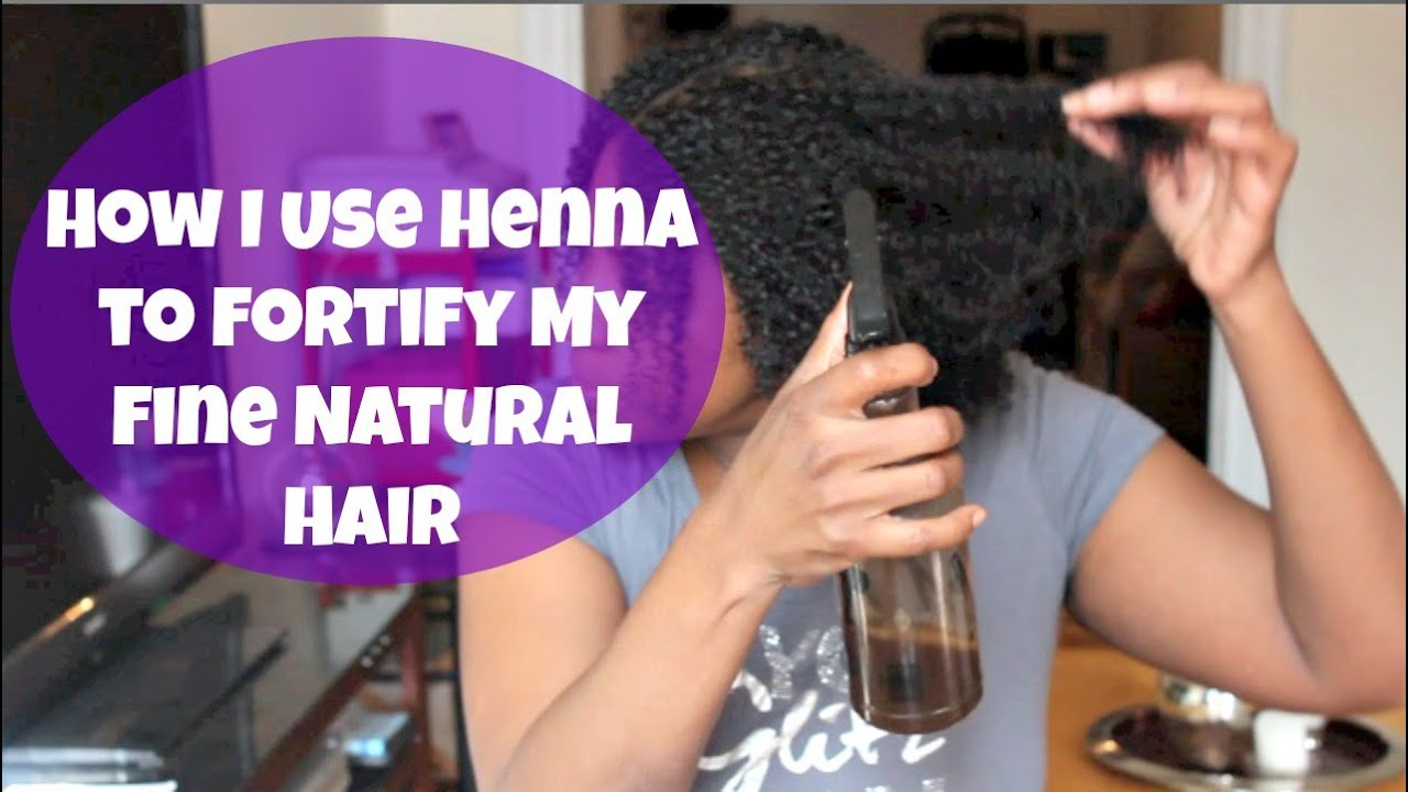 How I Use Henna To Fortify My Fine Natural Hair