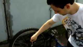 как сделать железные колеса