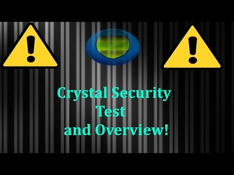 Crystal Security 2016 Test and Overview